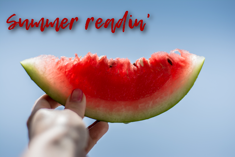 The books to read this summer…