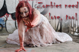 Zombies need love, too!