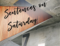 Seven Sentences on Saturday: Last Night