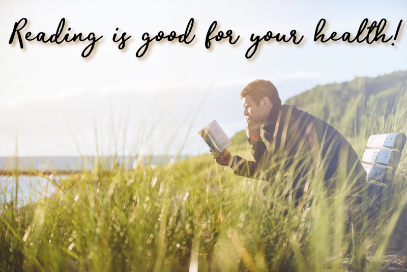 Reading IS good for you!