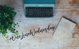 One Line Wednesday: One Stormy Night Edition