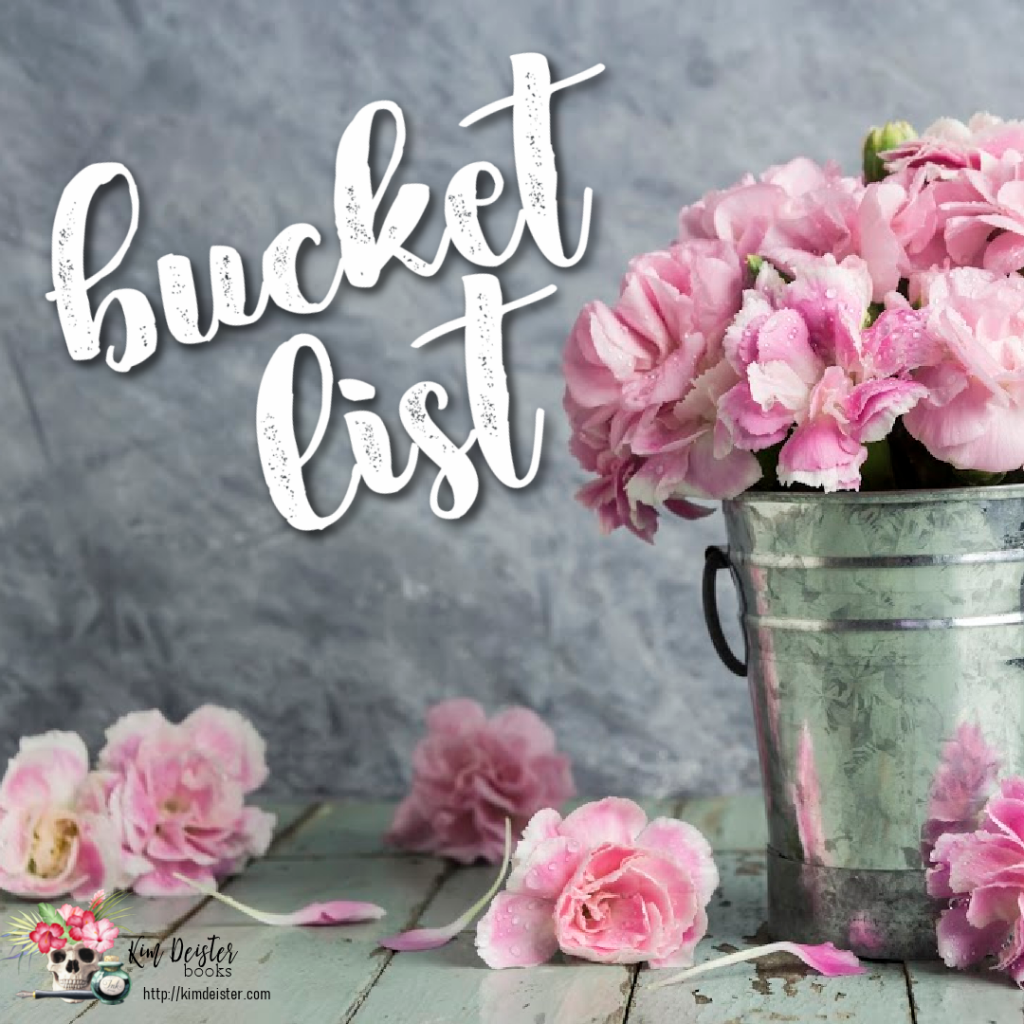 The Bucket List: the Book-Inspired Edition